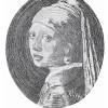 Chiński król line-artu reprodukuje dzieła mistrzów malarstwa