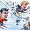Xi w Davos, Duda w Izraelu, Trump u siebie