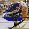 Chiński dron pasażerski w Dubaju