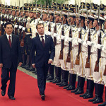 Dmitry Medvedev, Hu Jintao