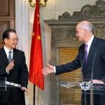 Chinese Premier Wen Jiabao visits Athens