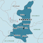 Shaanxi_map_by_city