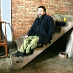 File picture of Chinese contemporary artist Ai Weiwei during an interview at his studio in Beijing