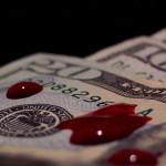 krew, pieniądze, leszek ślazyk,
