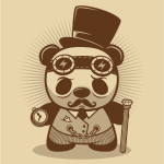 steampunk_panda_chiny, leszek slazyk