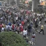 Starcie afrykańskich emigrantów z policją, chiny, leszek slazyk