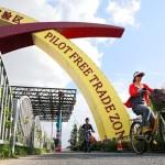 strefa wolnego handlu w Szanghaju, chiny, leszek slazyk