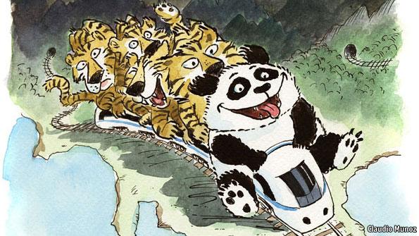 Photo of Chiny poprowadzą linię kolejową do Singapuru przez Laos