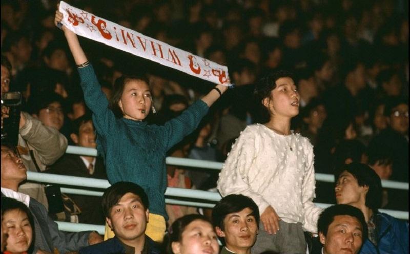 Photo of George Michael i Chiny