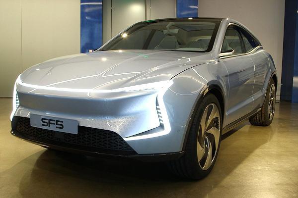 auto elektryczne sf5
