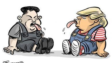 Photo of Trump i Kim w Singapurze,