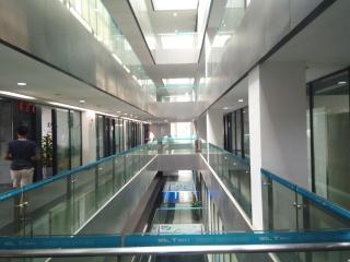 Wnętrze budynku parku technologicznego WIOT w Foshan