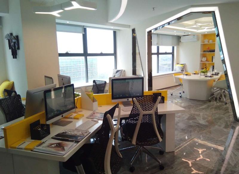 Wnętrze ośrodka kreatywności w Foshan/Shunde