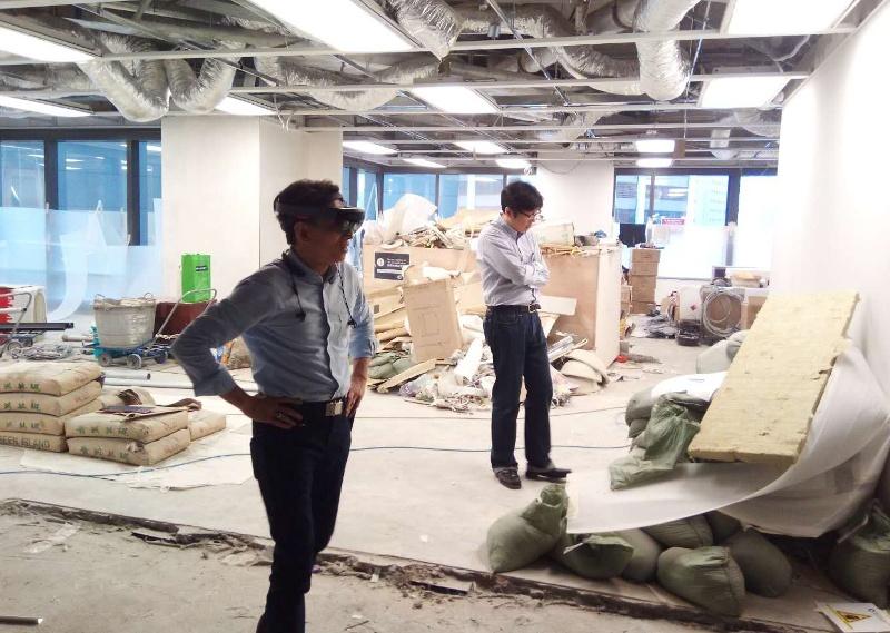 Wdrażanie aplikacji Hololens dla firmy Japońskiej w Hong Kongu
